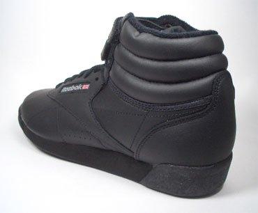Reebok - Zapatillas para deportes de interior de Piel para mujer Negro negro 35.5