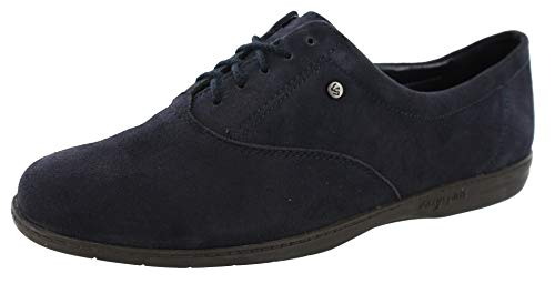 (Easy Spirit Women Motion Lace Up Oxford (9 B(M) US, Navy Suede))