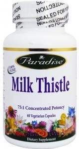 Paradise Herbs & Essentials - Milk Thistle, 250 mg, 60 veggie caps