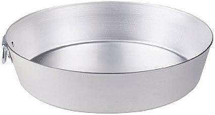 Plata Ollas Agnelli Tortiera con Anillo c/ónico BLTF Aluminio 28 cm