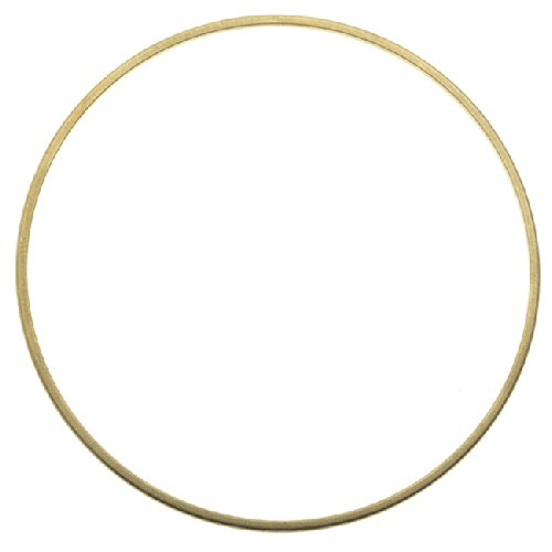 - Beadaholique Solid Brass Bangle, Round Domed Bracelet 1.5mm (1/16 Inch) Wide, 1 Piece