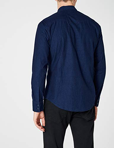 c32416 Levi's Gris 178 Hombre Camisa Pattern Azul Barstow Indigo Fenugreek Mt Para Western sd162702 0rw0X1