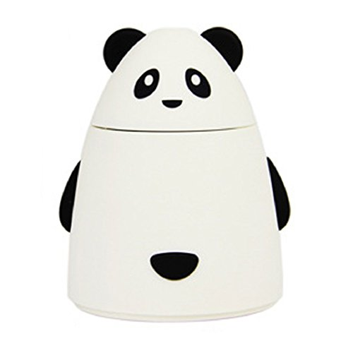 Shensee Cute Design USB LED Ultrasonic Home Humidifier Air Diffuser Purifier Atomizer (White)