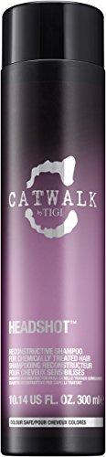 TIGI Catwalk Headshot Reconstructive Shampoo for Unisex, 10.14 Ounce -