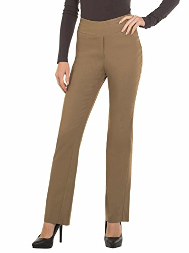 Red Hanger Bootcut Dress Pants for Women -Stretch Comfy Work Pull on Womens Pant ()