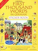German (Usborne First 1000 Words)
