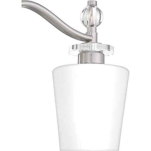 Quoizel HS8603C Hollister Vanity Bath Lighting, 3-Light, 300 Watts, Polished Chrome (10'' H x 23'' W) by Quoizel (Image #6)