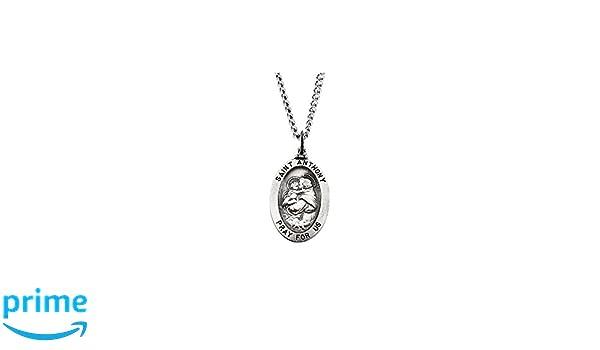 FB Jewels 14k White Gold 25x16mm Cross Pendant