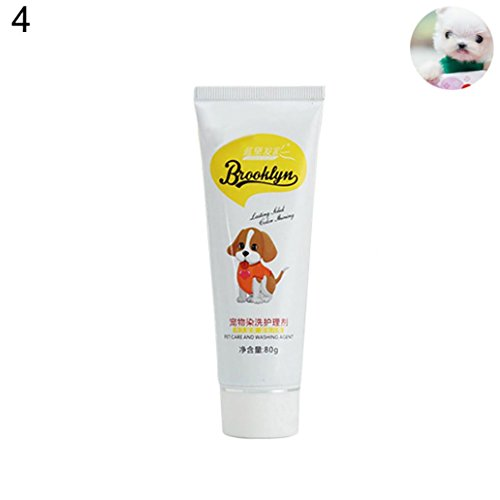 HEART SPEAKER 80g Pet Dog Cat Animals Hair Coloring Dyestuffs Dyeing Pigment Agent Supplies (Fresh - Agent Green