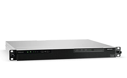 Lenovo ThinkServer RS160 70TG001RUX 1U Rack Server - 1 x Intel Xeon E3-1220 v6 Quad-core (4 Core) 3 GHz - 8 GB Installed DDR4 SDRAM - Serial ATA/600 Controller - 0, 1, 5, 10 RAID Levels - 1 x 300 W by Lenovo (Image #1)
