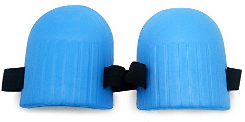 Knee Foam Pads - VIAHART Foam Knee Pads Blue with Loop Closure, Ultra Light Duty Soft Comfort, for Gardening and Housework