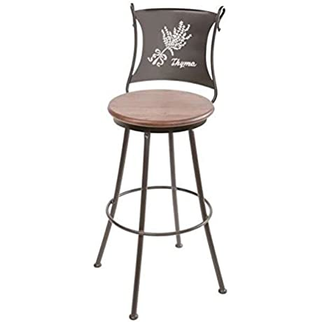 Thyme Swivel Bar Stool 30 In Std Faux Leather In Everglade Saddle 205717 OG 69911 O 281178 OG 142855 O 759869