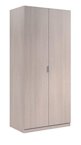 Générique VITO Armoire 2 portes 180x81cm chene