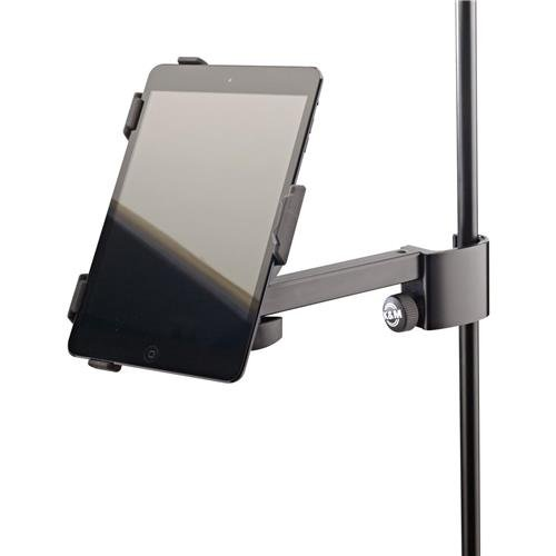 K & M 19723.000.55 iPad Mini Clamp On Holder, 1.65lbs Capacity