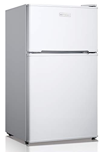 Emerson CR510WE 3.1 Cubic Foot Compact Double Door, Refrigerator White