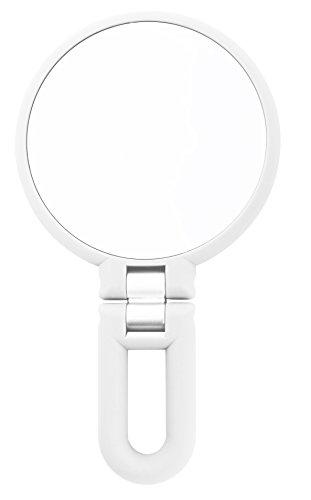 Danielle 15X Magnification Folding Makeup Mirror Clear Acrylic
