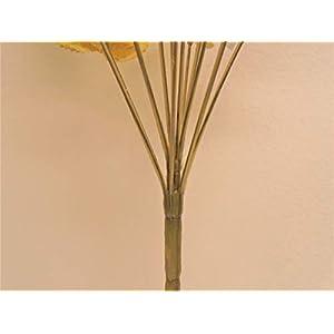 """Phoenix Silk Rose Buds Bush 14 Artificial Flowers 19"""" Bouquet 265 Gold 4"""