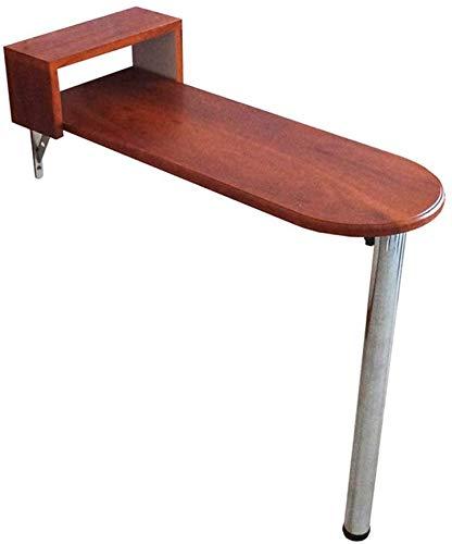 Mesa de hoja abatible Mesa de pared de madera maciza Mesa alta ...