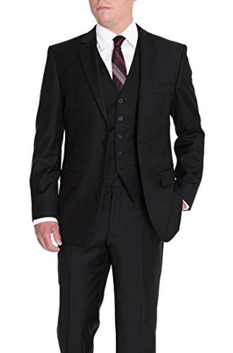 Wool 3 Piece Suit - 5