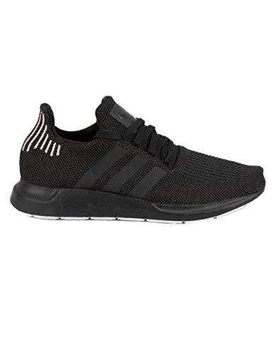 adidas Originals Women's Swift Running Shoe, Black/Carbon/White, 6.5 M US