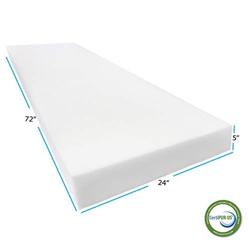 AK TRADING CO. Foam Sheet, 5 H x 24 W x 72 L