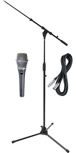 Shure Beta 87C HH Condenser Mic with Cable and Stand ()