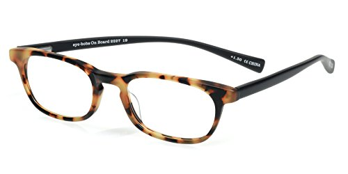eyebobs On Board, Tortoise and Black Reading Glasses - SUPERIOR QUALITY-$79 – because your eyes deserve the good stuff