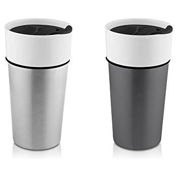 amazon com hamilton beach ceramic stainless travel mug 14oz 2
