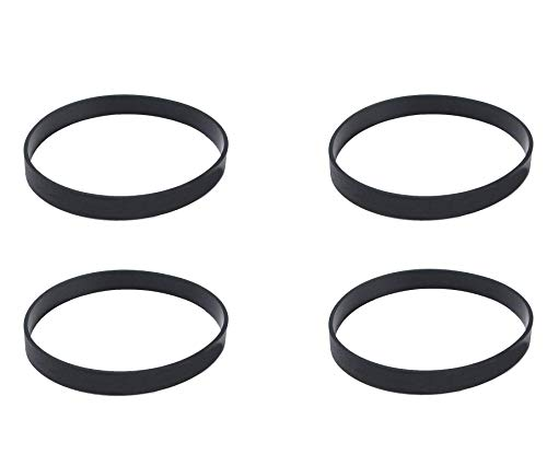 UFelice 4 Pack Vacuum Belts Fits for Bissell Style 7 9 10 12 14 16 Replacement Belt Compatible with Bissell PN 3031120