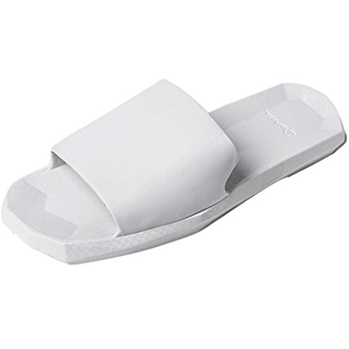 Elevin(TM)Women Men Couple Indoor Outdoor Summer Soft Bottom Bath Slippers Sandals Shoes White-women BMJXDpH8YO