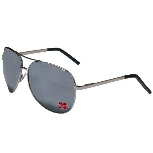 NCAA Nebraska Cornhuskers Aviator Sunglasses (Ncaa Aviator Sunglasses)