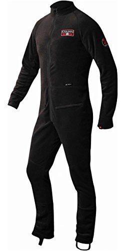 (Nookie Iceman Thermal Suit Water Hydration - Ice Black - Thermal Warm Heat Layer Layers)