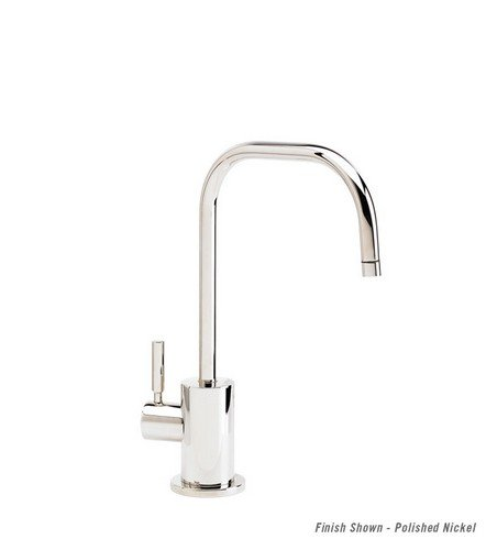 Waterstone 1425C06 Fulton Cold Only Powder Coated Faucet, Matte Black by Waterstone