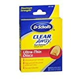 Dr. Scholls Dr. Scholls Clear Away Wart Remover Medicated Discs, 18 each (Pack of 3)