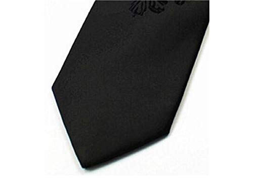Black Jacquard Occasion Casual Men's XDXDWEWERT Narrow Tie Formal Fashion Necktie Style 6vnOwqS