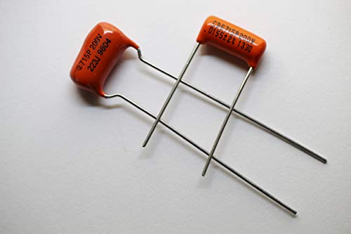Mixed Pair 715P 200v Orange Drop Capacitors .015uf & .022uf for Neck and ()