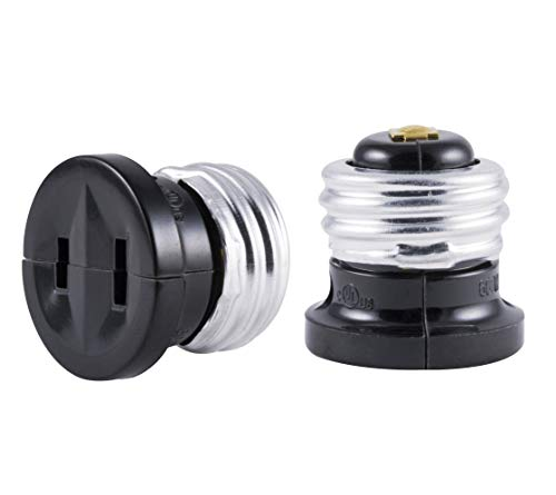 Outdoor Light Bulb Outlet Adapter
