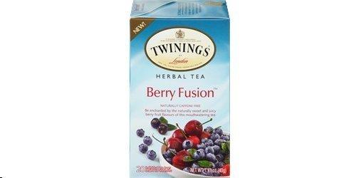 (Twinings Berry Fusion Herbal Tea, 20 Bags Single Box)