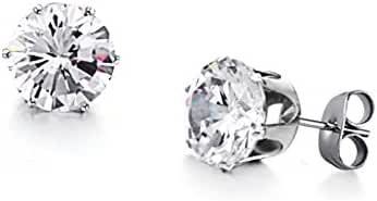 Aegean Jewelry Titanium Lady's Charming Stud Earring with a Gift Box and a FREE Small Gift
