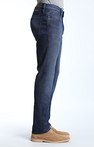 34 HERITAGE COURAGE MID RISE JEAN 33/32 DARK SPORTY PREMIUM