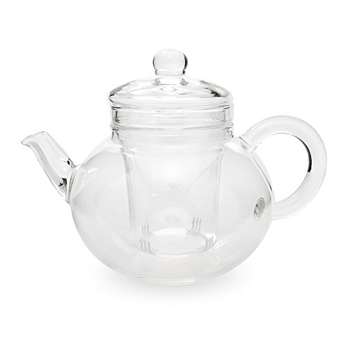 Yama Glass Teapot with Infuser, 32 oz., Clear