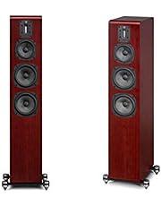 Quad S-4 Floorstanding Speakers - Sapele Mahogany