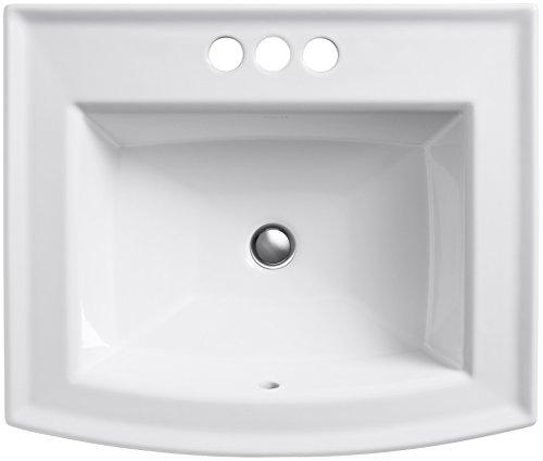 Kohler K-2356-4-0 Archer Bathroom Sink, White
