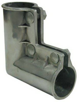 Midwest Air Technologies 328623C Aluminum Gate Ell with Nuts & Bolts, 1-3/8 x1-3/8-In.
