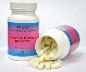 WSN ® Nerve and Energy Booster - acétyl-L-carnitine et l'acide lipoïque R-alpha fournir un soutien nutritionnel pour les nerfs, le métabolisme de l'énergie et de la protection des cellules nerveuses.