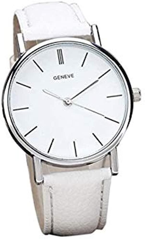 Reloj para Mujer, Moda Simple Diseño Retro clásico Relojes ...