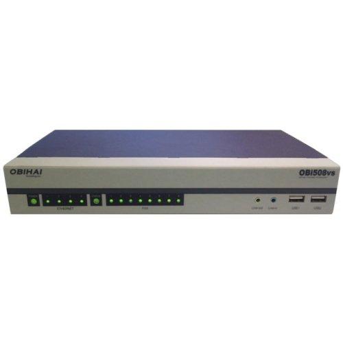 "Obihai Obi508 Voip Gateway . 4 X Rj. 45 . 8 X Fxs . Gigabit Ethernet ""Product Type: Telecommunication/Voip Gateways"""
