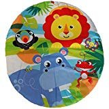 (Fisher Price On-The-Go Baby Dome - Blue/White Replacement Pad / Cushion (DRF35))