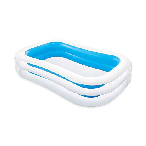 Intex Swim Center Family Inflatable Pool, 103 X 69 X 22, for Ages 6+