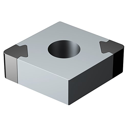 - Sandvik Coromant, CNGA432S0835A 7025, T-Max P Insert for Turning, CBN, Diamond 80°, Neutral Cut, 7025 Grade, Uncoated